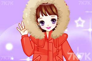 《樱桃公主换冬装》游戏画面1