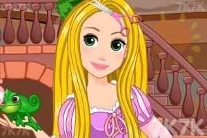 《长发公主美发》游戏画面1