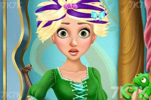 《长发公主的百变发型》游戏画面2