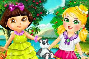 朵拉和朋友阿兰娜