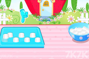 《制作草莓小蛋糕》游戏画面3