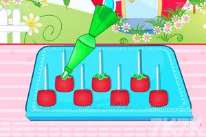 《制作草莓小蛋糕》游戏画面4