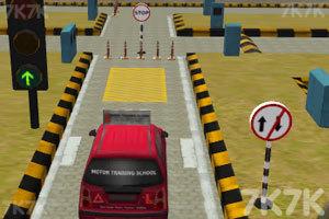 《3D驾照考试》游戏画面2