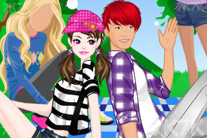 《野餐的情侣》游戏画面2