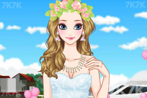 《给新娘做发型》游戏画面2