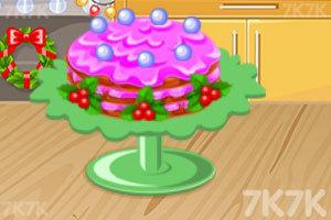 《好吃的圣诞蛋糕》游戏画面1