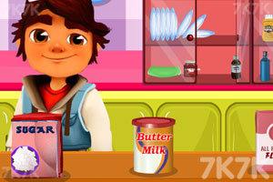 《跑酷小子做煎饼》游戏画面3