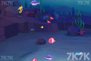 《大鱼吃小鱼三人版》游戏画面2