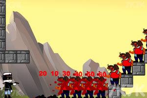 《黑猫警长神枪手》游戏画面1