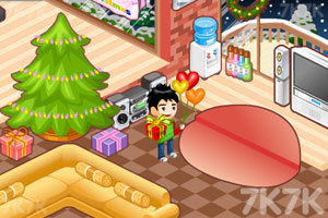 《泰莎的圣诞节布置》游戏画面3