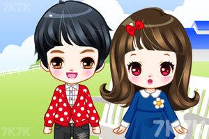 《可爱的小情侣》游戏画面3