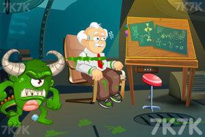 《救出科学家》游戏画面1