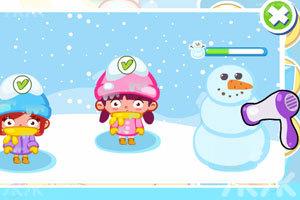 《下雪天偷懒》游戏画面4