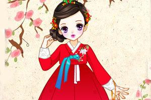 《传统韩国贵族女孩》截图2