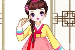 《传统韩国贵族女孩》截图1