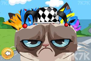 《愤怒猫的新发型》游戏画面2
