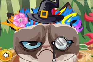 《愤怒猫的新发型》游戏画面3