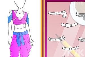 《时尚嘻哈舞蹈服》游戏画面2