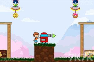 《炮打外星人》游戏画面2