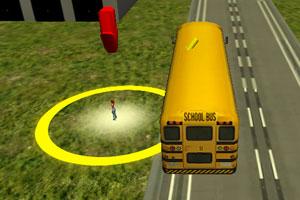 《3D校车接送》游戏画面1