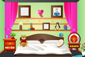 《逃出孩子的迷你卧室》游戏画面1