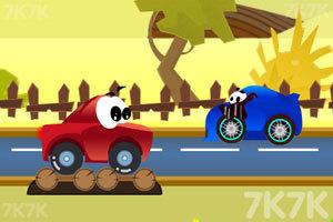 《小汽车的奇幻旅途》游戏画面1
