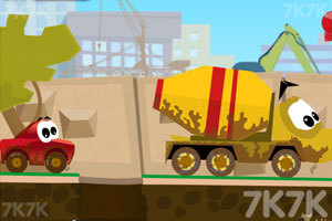 《小汽车的奇幻旅途》游戏画面2