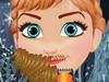 安娜长胡子啦!