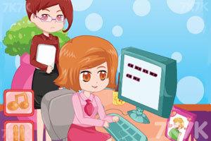 《上班偷偷化妆》游戏画面1