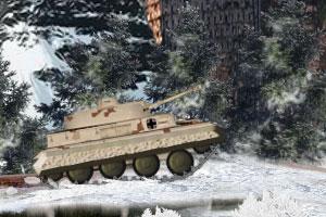 《机甲坦克雪地出击》游戏画面1