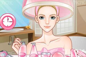 《美女换发型》游戏画面3