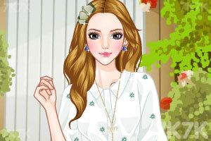 《美女换发型》游戏画面1