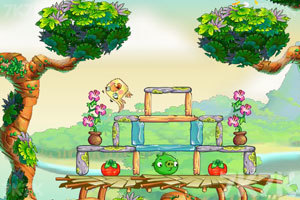 《愤怒的小鸟思黛拉电脑版》游戏画面2