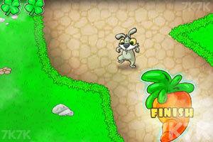 《兔老爹寻找胡萝卜无敌版》游戏画面3