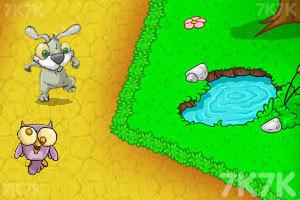 《兔老爹寻找胡萝卜无敌版》游戏画面2