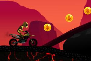 火山摩托车特技赛
