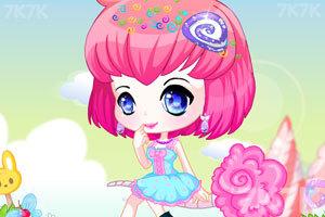 《甜美糖果精灵》游戏画面1