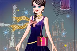 《女孩在巴黎》游戏画面1