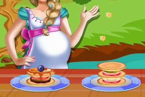 艾莎制作煎饼