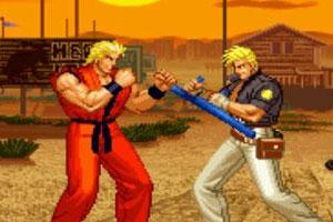 《龙虎之拳》游戏画面1