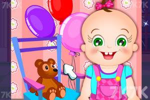 《玫瑰宝宝打扫餐厅》游戏画面3