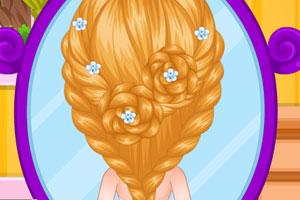 芭比宝贝的花样美发