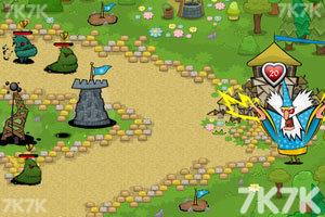 《保卫花园无敌版》游戏画面1