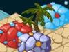 月亮岛上的五彩石