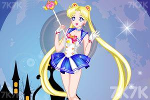 《可爱的美少女战士》游戏画面2