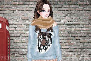 《摇滚女孩打扮》游戏画面3