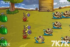 《水果保卫战4无敌版》游戏画面1