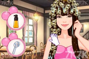 《珍妮的新发型》游戏画面2