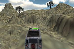 山地搜救车停靠