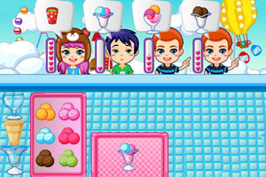 《我的冰淇淋小店》游戏画面1